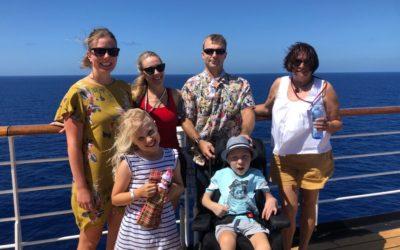 Runner-up Host Family of the Year: Halstead Family